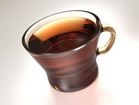 auroral: early tea Stock Photo
