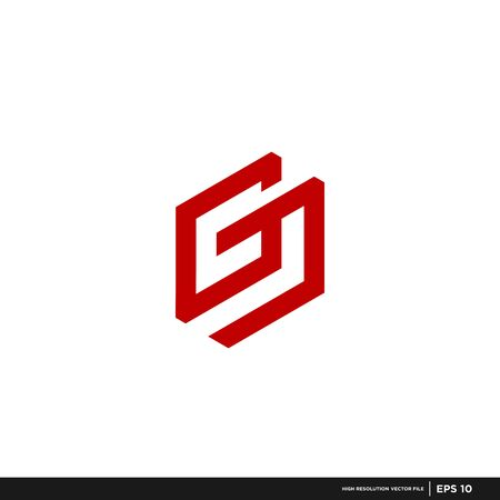 modern vector logo letter G , unique, and clean rocket shape, technology, brand, company