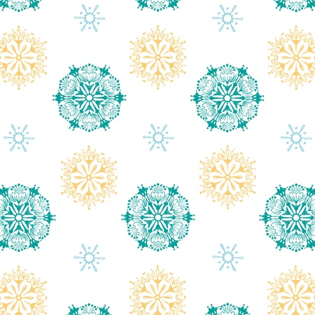 seamless pattern snowflake background