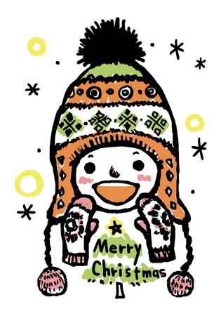 Say merry christmas Stock Vector - 16824561