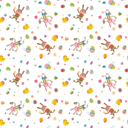 Happy Easter texture Vector