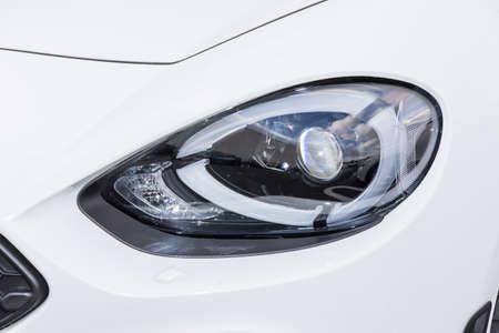 Car Headlights Headlight of the Car