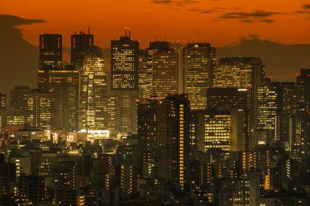 Tokyo Shinjuku Skyscraper Scenery of the Tokyo Shinjuku, Japan