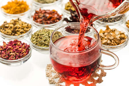 Beautiful Herbal Tea Colorful Herb Tea