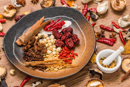 Chinese Medicine Medicinal Food Longevity Healthy Food Chinese Medicine Dishes