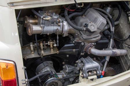 Engine Room car engine room