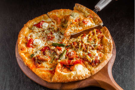 Pizza Italian Foto de archivo