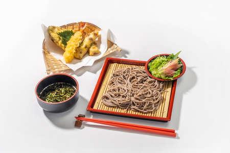 Japanese Soba Japanese Noodles (soba buckwheat noodles)