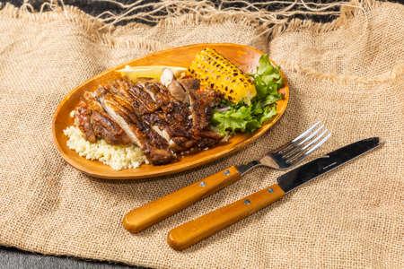 Jamaican Jerk Chicken Jamaycan Food Jerk Chicken