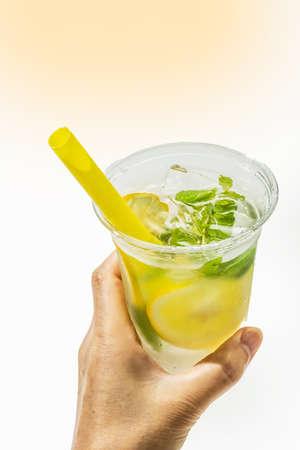 Lemonade Cold Lemonade with Fresh Lemon