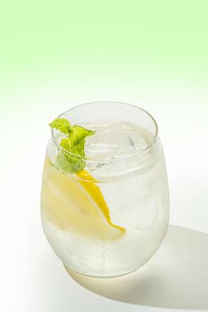 Lemonade Cold Lemonade with Fresh Lemon 写真素材