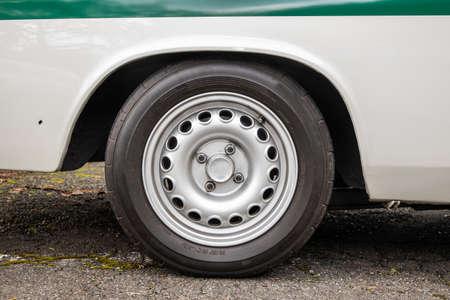 Car Tires Wheel old Wheel of the Car