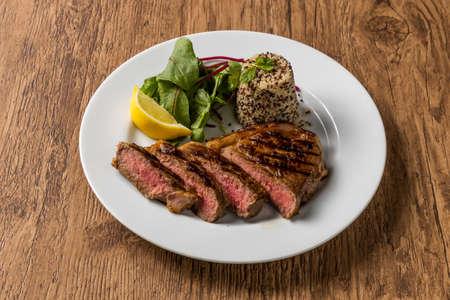 Steak High-quality Japanese beef steak