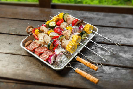 Outdoor Barbecue Barbecue Party Outdoors
