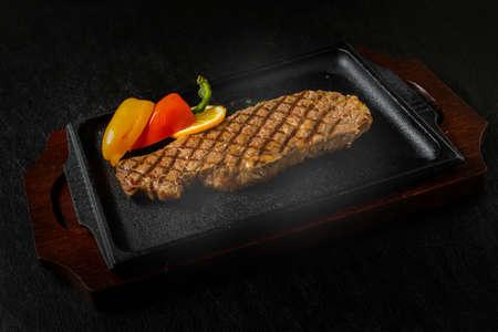 Sizzle Wagyu Steak High-Quality Japanese Beef Steak 写真素材