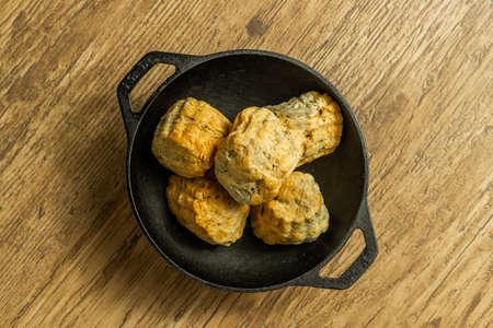 British scones Scottish scones with tea, jam and cream