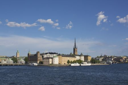 A view of Riddarholmen, Stockholm photo
