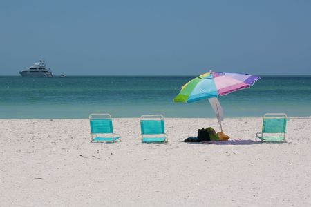 At the beach on Marco Island, Florida photo