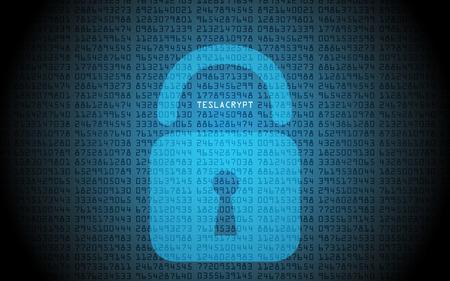 stocky: Ransomware Padlock binary code virus