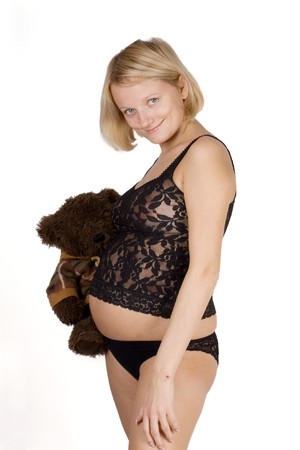 womanlike: Pregnant female