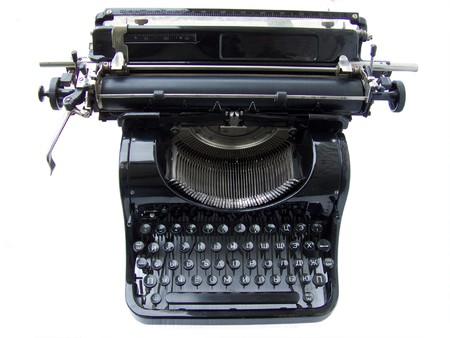 Typing machine photo