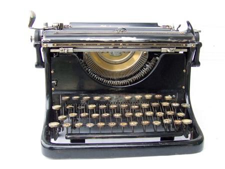 Typing machine Stock Photo - 4368347