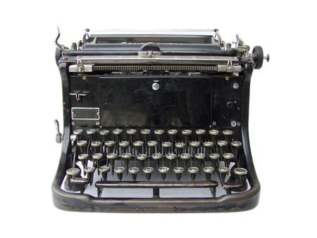 Typing machine Stock Photo - 4368322