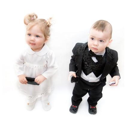boy and girl Stock Photo - 4398150