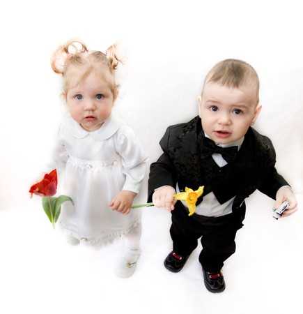 boy and girl Stock Photo - 4398155