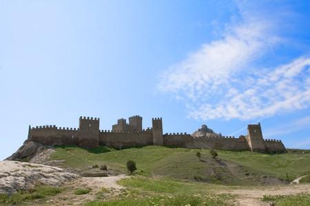 Sudak fortress Stock Photo - 4402056