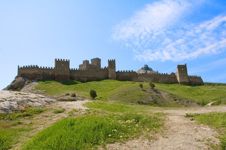 sudak: Sudak fortress