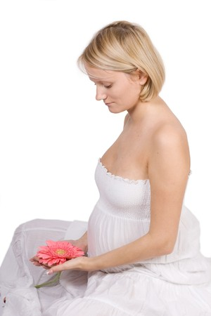 Pregnant female Stock Photo - 4495736