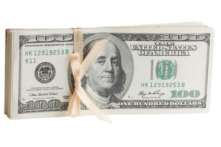 indigence: Dollars Stock Photo
