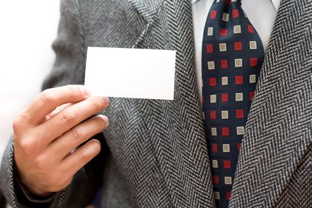 business hands man in suit Stock Photo - 4903478