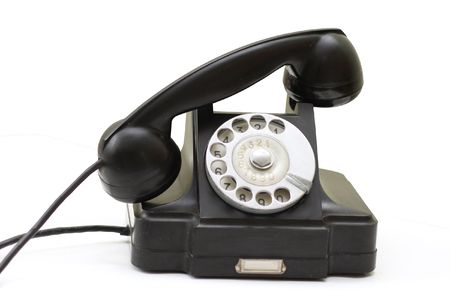 office appliances: Old Phone