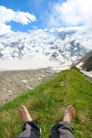 Caucasus mountain photo