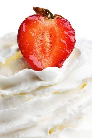 wimbledon: strawberries in cream Stock Photo
