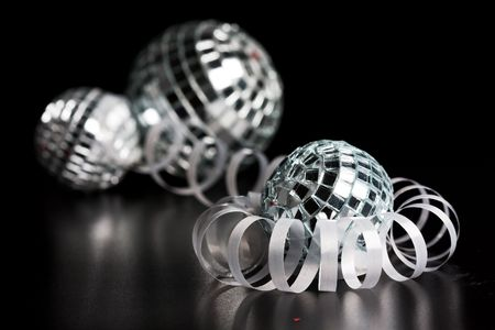 selebration: silver decoration and holiday selebration