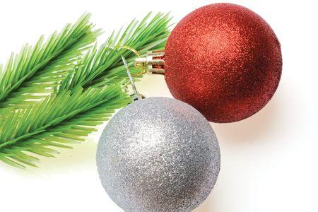 New year decoration on background photo
