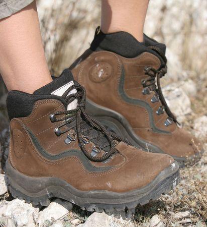Hiking boot photo