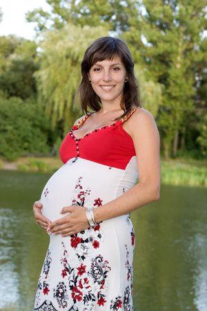 Pregnant female photo