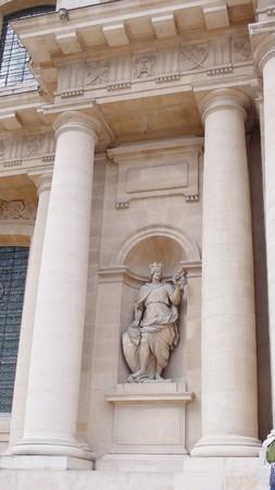 palais: Les Invalides in Paris  Stock Photo