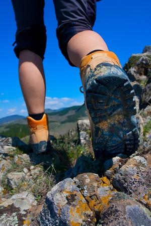 hiking boot: Hiking boot