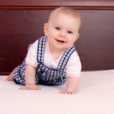 infant girl: Sweet baby girl