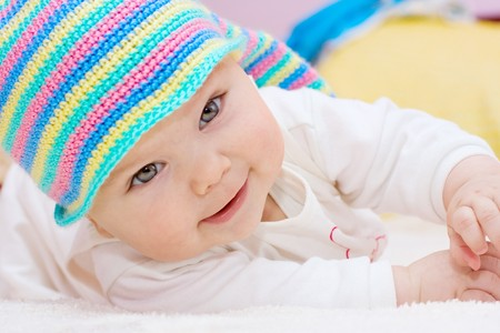 Sweet baby girl Stock Photo - 8119131