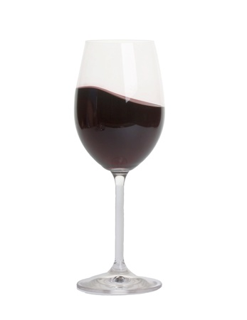 bocal: bocal with red wine close-up