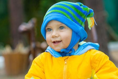 the lovely boy: Sweet baby boy Stock Photo