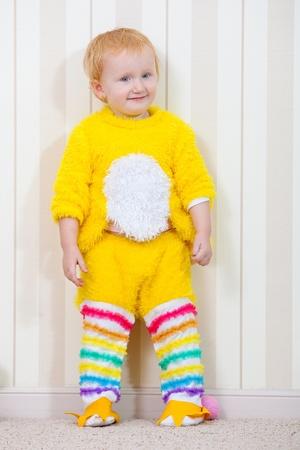 Child in costume of chicken Stock Photo - 9134969