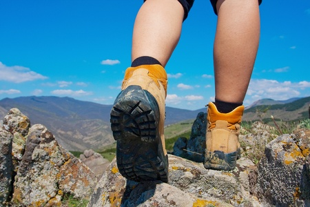 hiking boots: Hiking boot