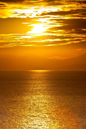 Sunset at the sea Stock Photo - 9135446
